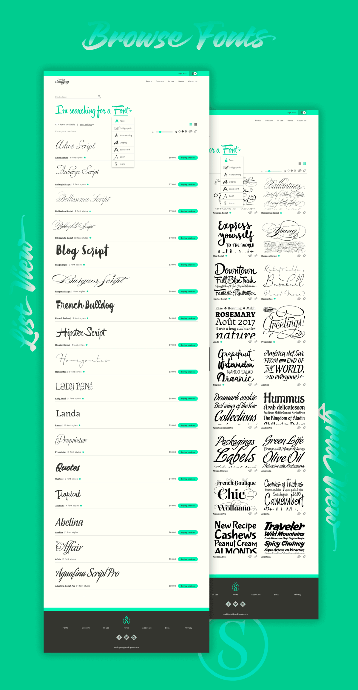Sudtipos type foundry